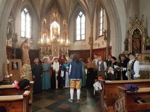 Tschenglsburg, Tschengls e Chiesa Maria di Lourdes in Lasa...