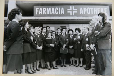 1995 INAUGURAZIONE FARMACIA SINIGO